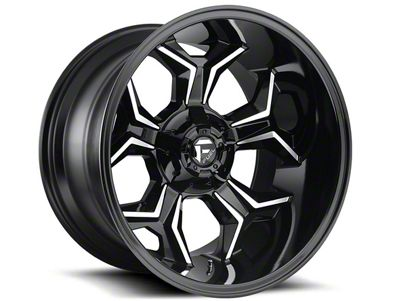 Fuel Wheels Avenger Gloss Black Machined 6-Lug Wheel - 20x10 (07-18 Sierra 1500)