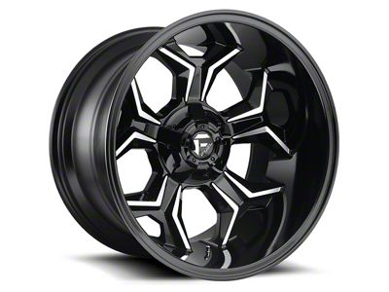 Fuel Wheels Avenger Gloss Black Machined 6-Lug Wheel - 20x12 (07-18 Sierra 1500)