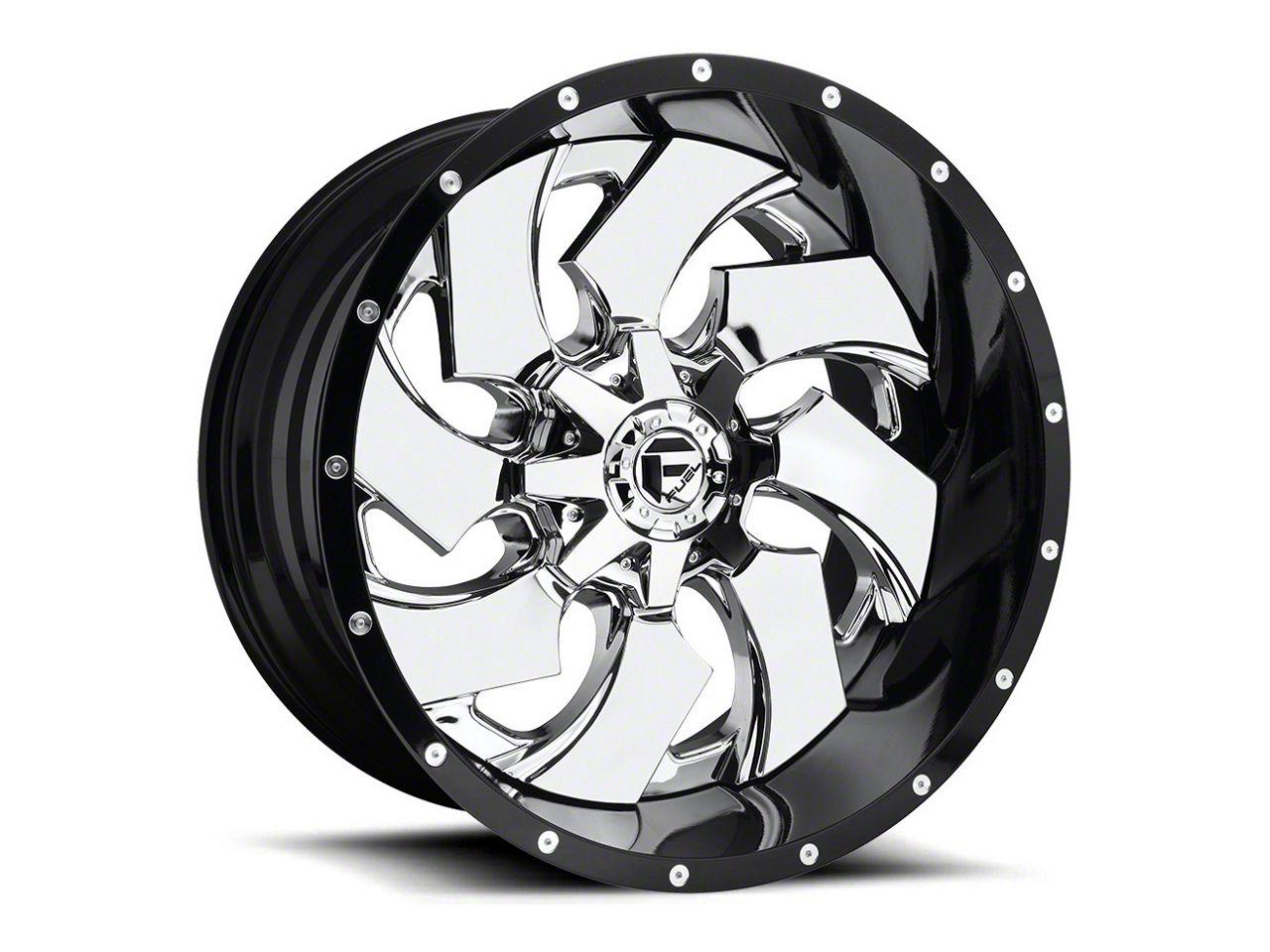 Fuel Wheels Cleaver 2-Piece Chrome 6-Lug Wheel - 20x12 (07-18 Sierra 1500)