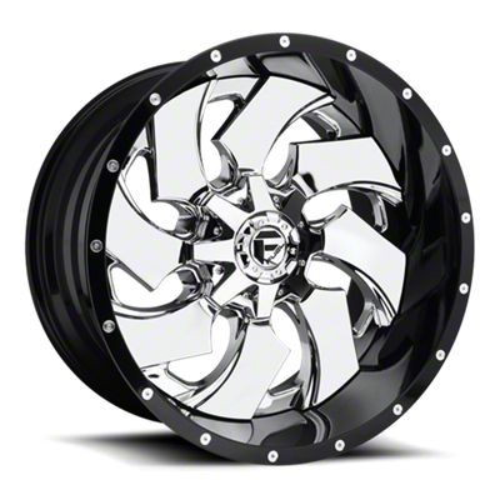 Fuel Wheels Cleaver Chrome 6-Lug Wheel - 20x10 (07-18 Sierra 1500)