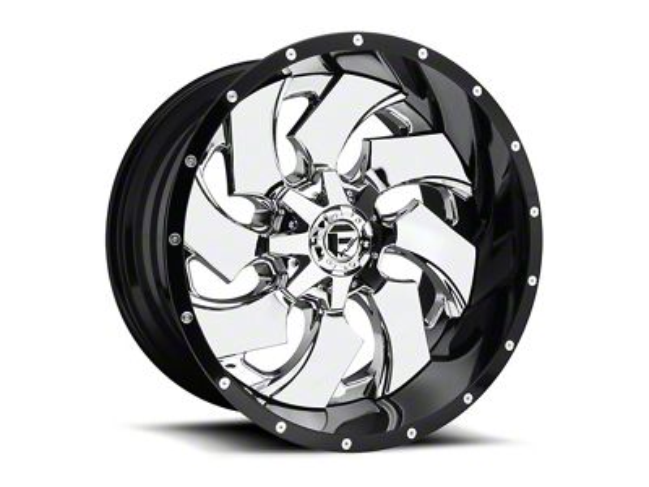 Fuel Wheels Cleaver Chrome 6-Lug Wheel - 24x12 (07-18 Sierra 1500)