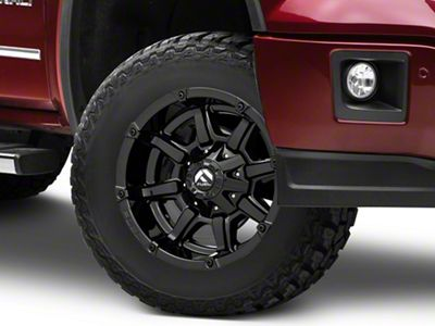 Fuel Wheels Coupler Gloss Black 6-Lug Wheel - 17x9 (07-18 Sierra 1500)