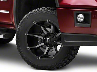 Fuel Wheels Coupler Matte Black Machined 6-Lug Wheel - 18x9 (07-18 Sierra 1500)