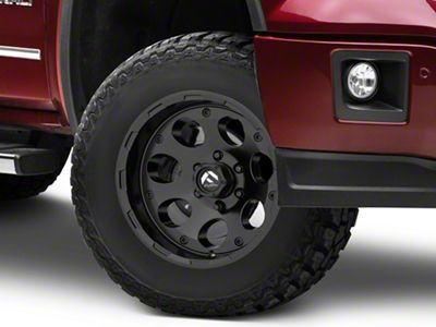 Fuel Wheels Enduro Matte Black 6-Lug Wheel - 17x9 (07-18 Sierra 1500)