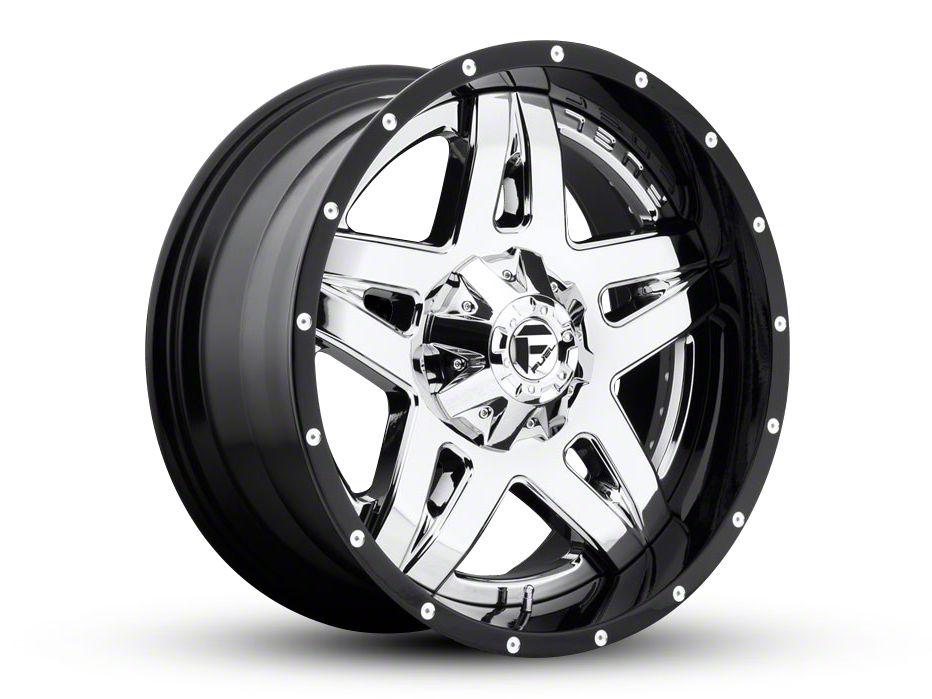 Fuel Wheels Full Blown Chrome 6-Lug Wheel - 22x10 (07-18 Sierra 1500)