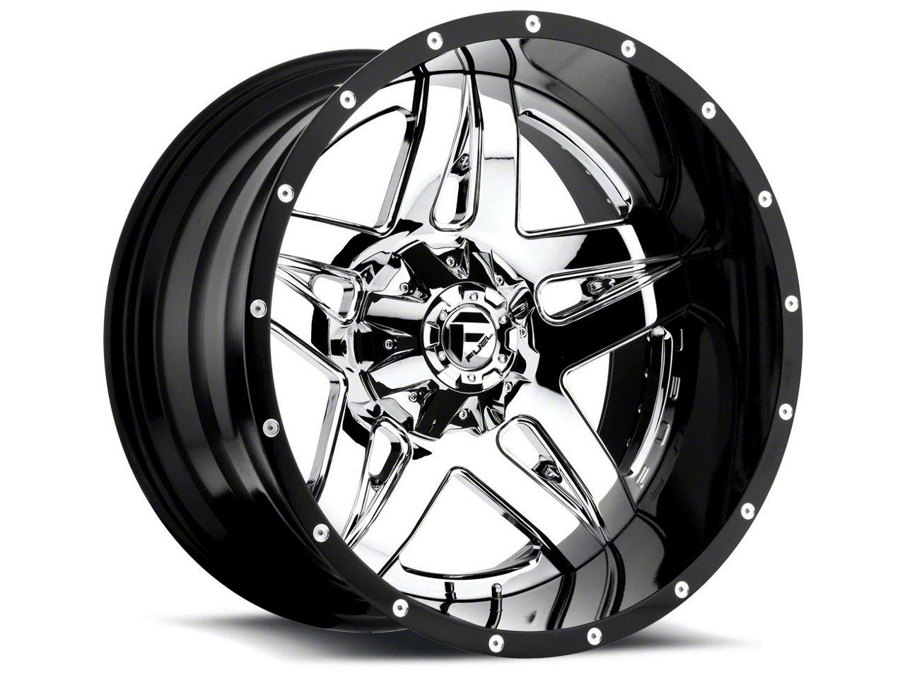 Fuel Wheels Full Blown Chrome 6-Lug Wheel - 22x12 (07-18 Sierra 1500)