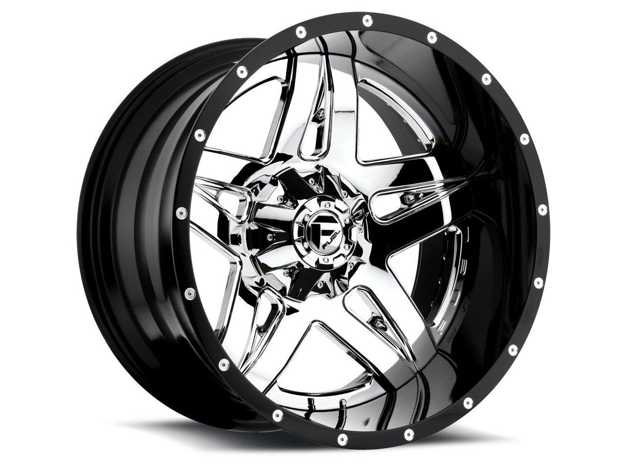 Fuel Wheels Full Blown Chrome 6-Lug Wheel - 22x14 (07-18 Sierra 1500)