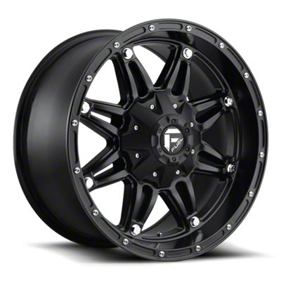 Fuel Wheels Hostage Matte Black 6-Lug Wheel - 18x12 (07-18 Sierra 1500)