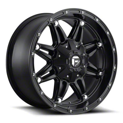 Fuel Wheels Hostage Matte Black 6-Lug Wheel - 20x12 (07-18 Sierra 1500)