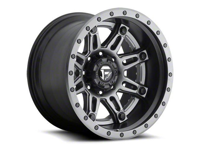 Fuel Wheels Hostage Matte Black 6-Lug Wheel - 22x10 (07-18 Sierra 1500)