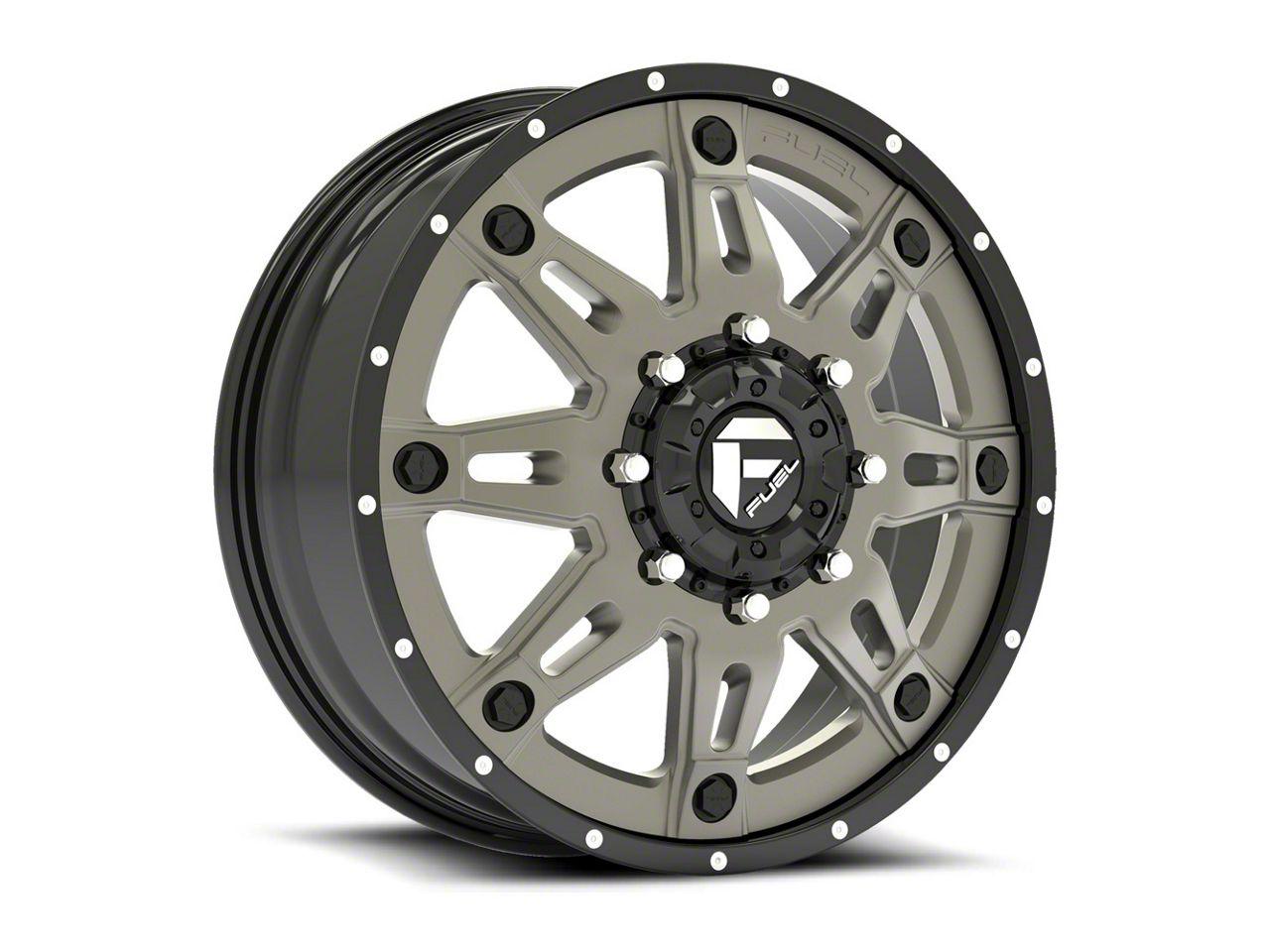 Fuel Wheels Hostage Matte Black 6-Lug Wheel - 22x12 (07-18 Sierra 1500)