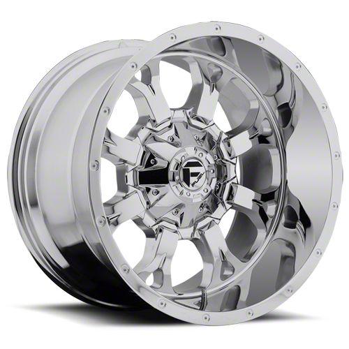 Fuel Wheels Krank Chrome 6-Lug Wheel - 20x12 (07-18 Sierra 1500)