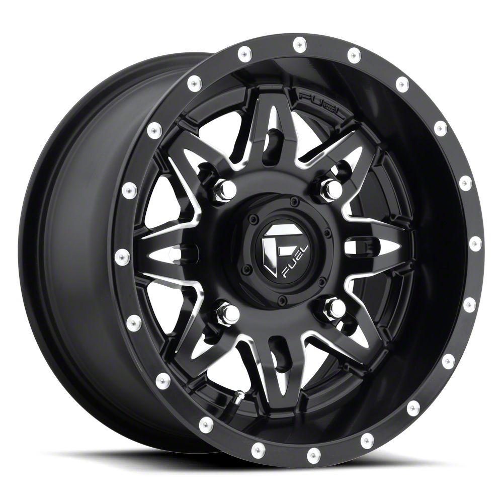 Fuel Wheels Lethal Black Milled 6-Lug Wheel - 22x11 (07-18 Sierra 1500)