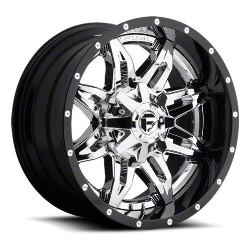 Fuel Wheels Lethal Chrome 6-Lug Wheel - 20x12 (07-18 Sierra 1500)