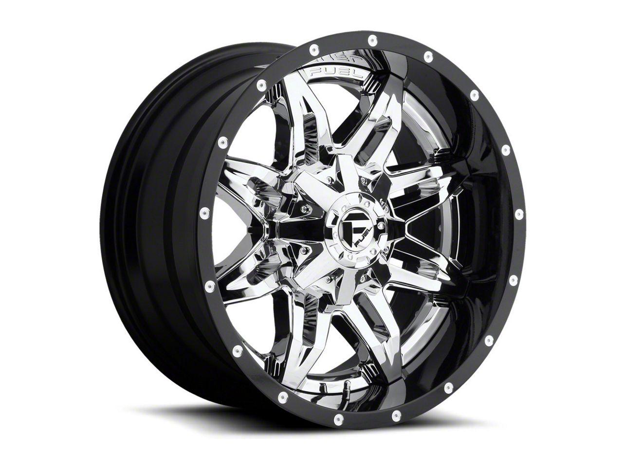 Fuel Wheels Lethal Chrome 6-Lug Wheel - 22x10 (07-18 Sierra 1500)