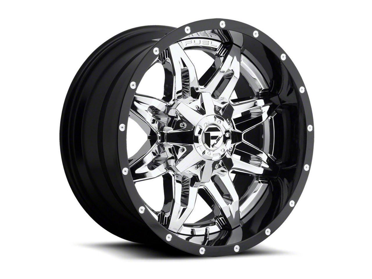 Fuel Wheels Lethal Chrome 6-Lug Wheel - 22x12 (07-18 Sierra 1500)