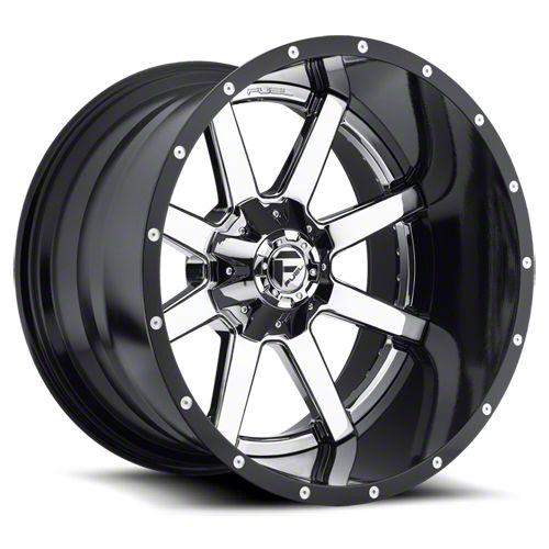 Fuel Wheels Maverick 2-Piece Chrome 6-Lug Wheel - 20x12 (07-18 Sierra 1500)