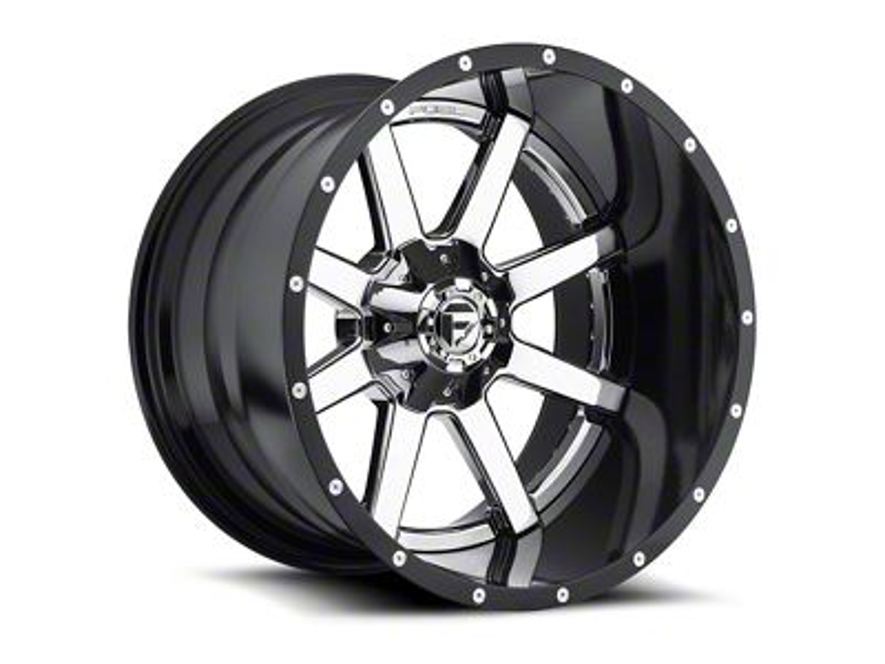 Fuel Wheels Maverick Chrome 6-Lug Wheel - 24x14 (07-18 Sierra 1500)