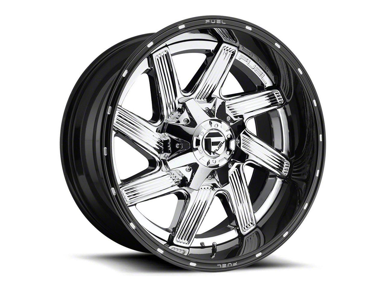 Fuel Wheels Moab Chrome 6-Lug Wheel - 20x14 (07-18 Sierra 1500)