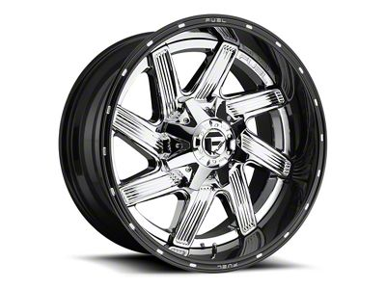 Fuel Wheels Moab Chrome 6-Lug Wheel - 22x10 (07-18 Sierra 1500)
