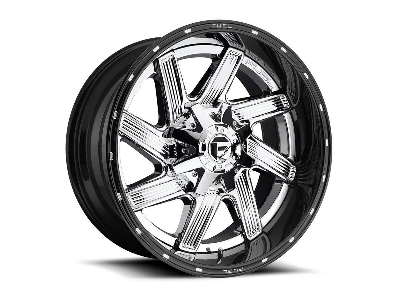 Fuel Wheels Moab Chrome 6-Lug Wheel - 22x14 (07-18 Sierra 1500)