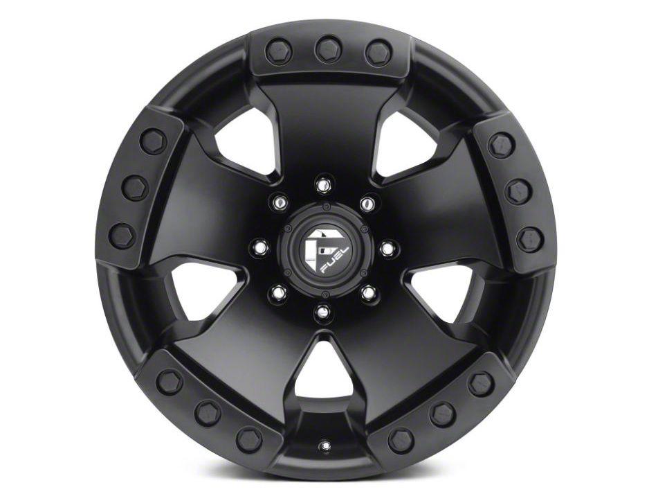 Fuel Wheels Monsta Matte Black 6-Lug Wheel - 20x10 (07-18 Sierra 1500)