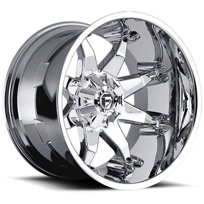 Fuel Wheels Octane Chrome 6-Lug Wheel - 20x12 (07-18 Sierra 1500)