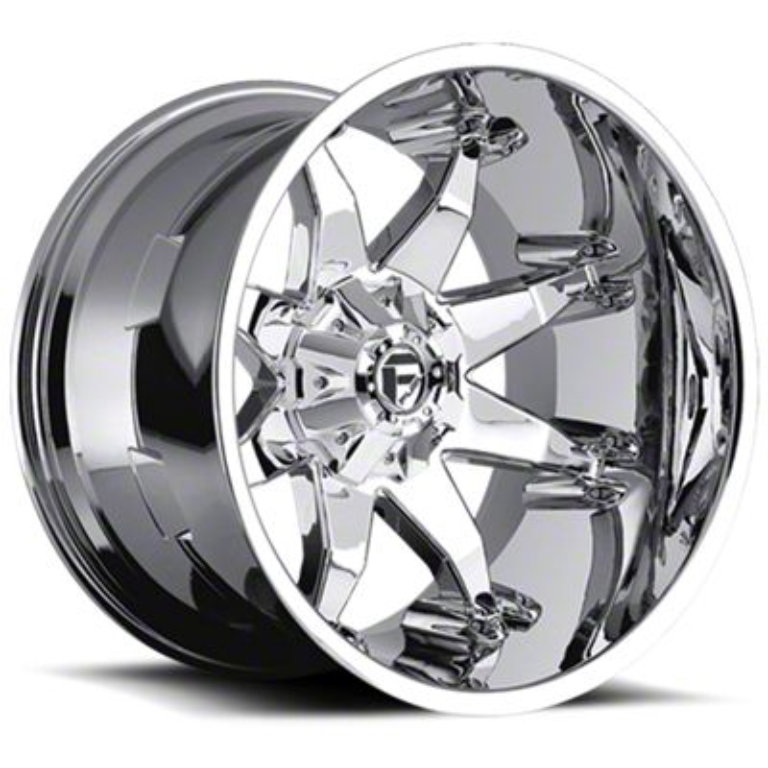 Fuel Wheels Octane Chrome 6-Lug Wheel - 22x14 (07-18 Sierra 1500)