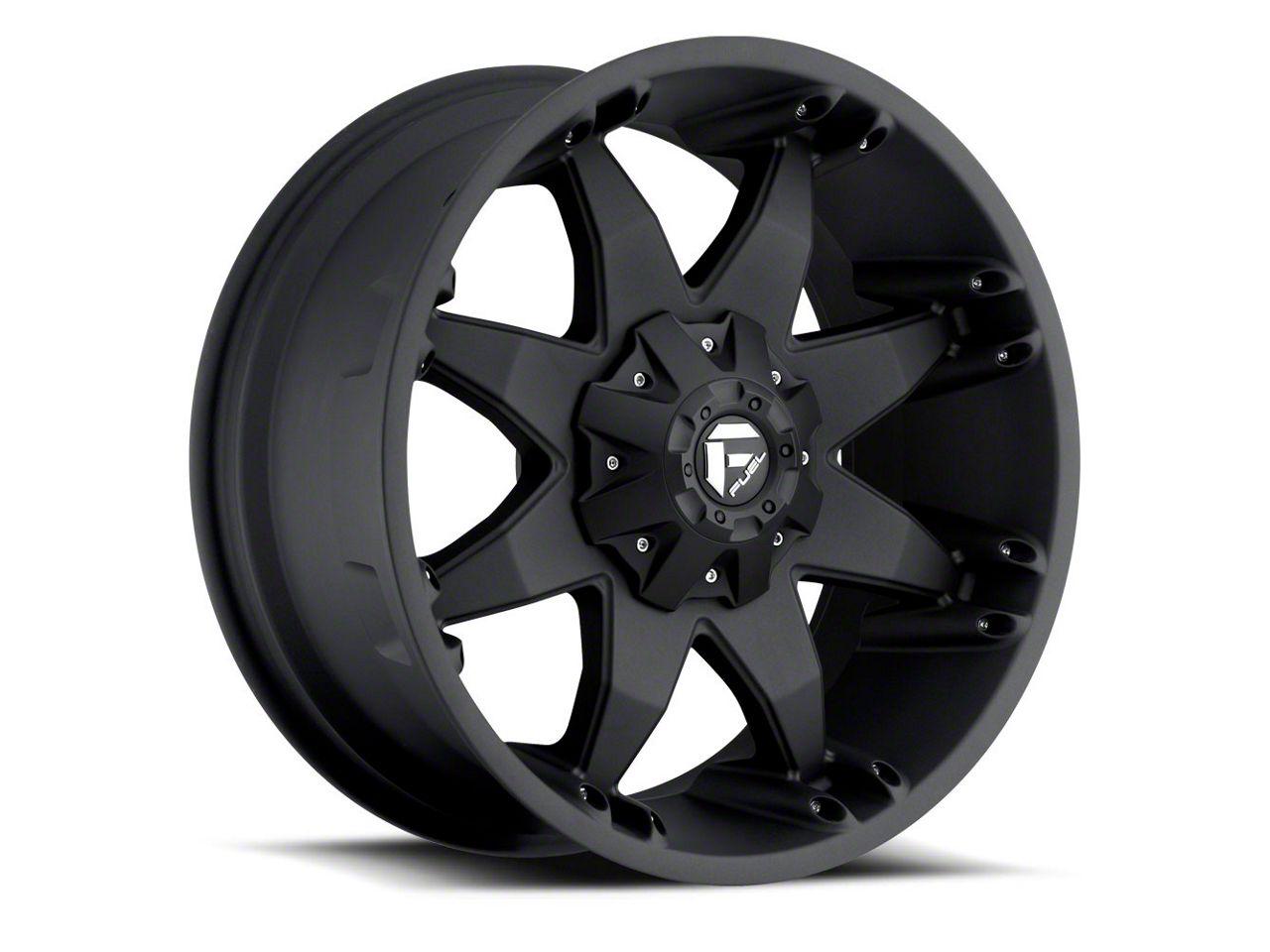 Fuel Wheels Octane Matte Black 6-Lug Wheel - 20x9 (07-18 Sierra 1500)