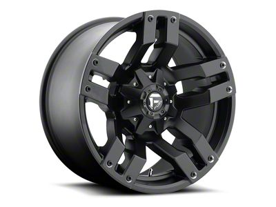 Fuel Wheels Pump Matte Black 6-Lug Wheel - 18x9 (07-18 Sierra 1500)