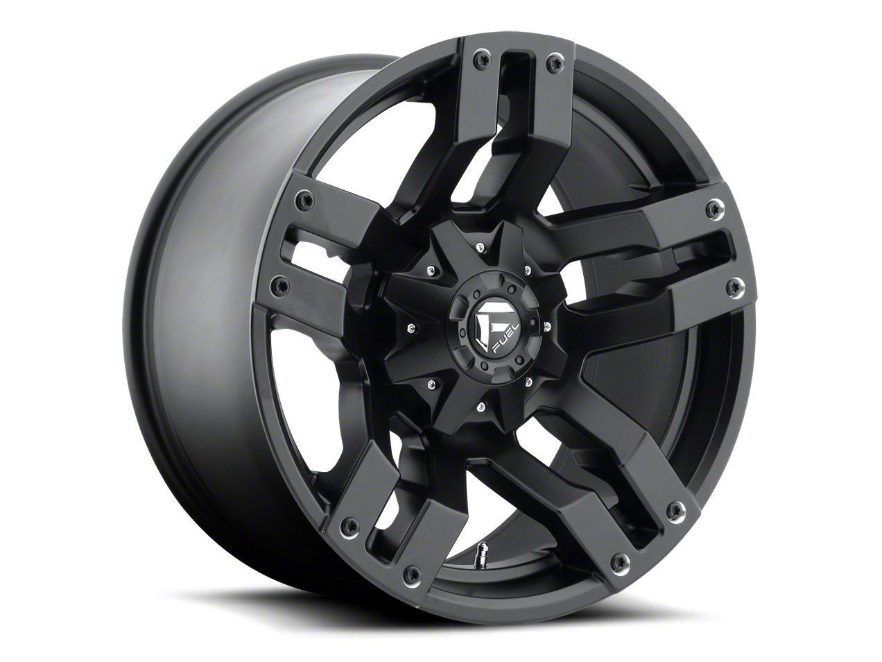 Fuel Wheels Pump Matte Black 6-Lug Wheel - 20x10 (07-18 Sierra 1500)