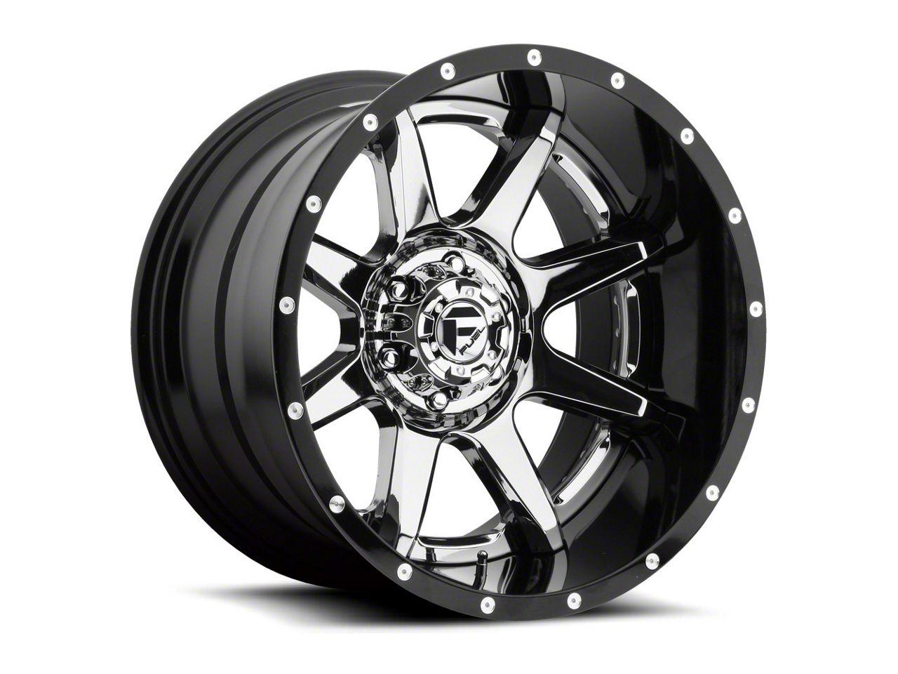 Fuel Wheels Rampage Chrome 6-Lug Wheel - 22x10 (07-18 Sierra 1500)