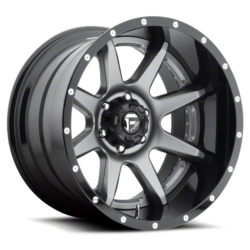Fuel Wheels Rampage Gun Metal 6-Lug Wheel - 20x10 (07-18 Sierra 1500)