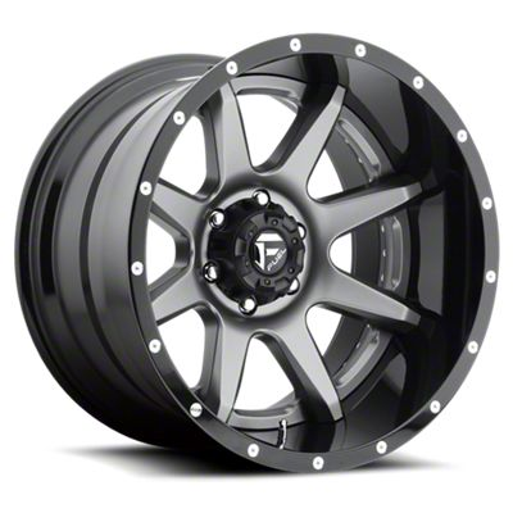 Fuel Wheels Rampage Gun Metal 6-Lug Wheel - 22x10 (07-18 Sierra 1500)