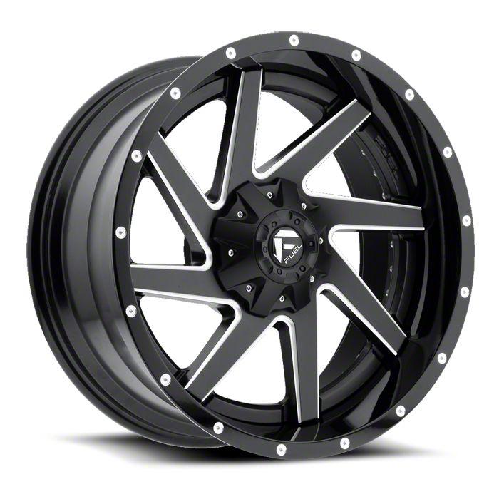 Fuel Wheels Renegade Black Milled 6-Lug Wheel - 20x14 (07-18 Sierra 1500)