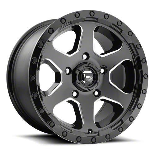 Fuel Wheels Ripper Gloss Black Milled 6-Lug Wheel - 20x10 (07-18 Sierra 1500)
