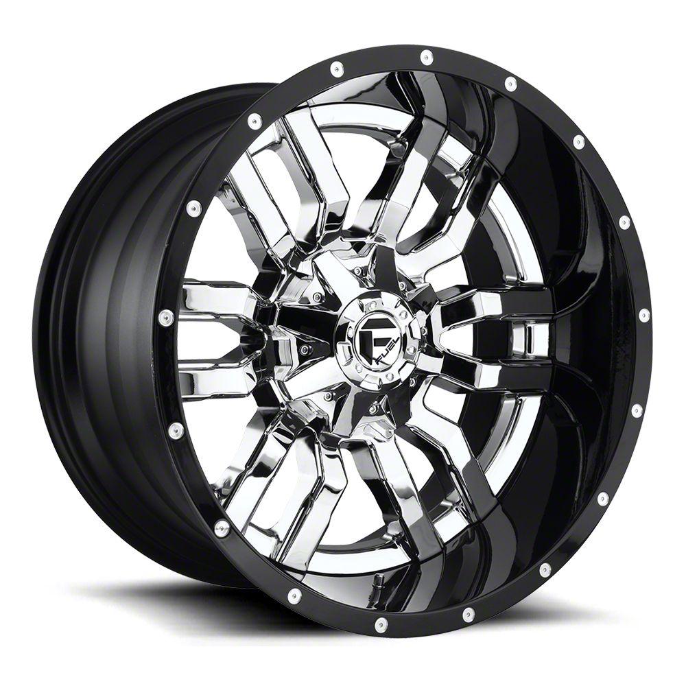 Fuel Wheels Sledge Chrome 6-Lug Wheel - 20x12 (07-18 Sierra 1500)