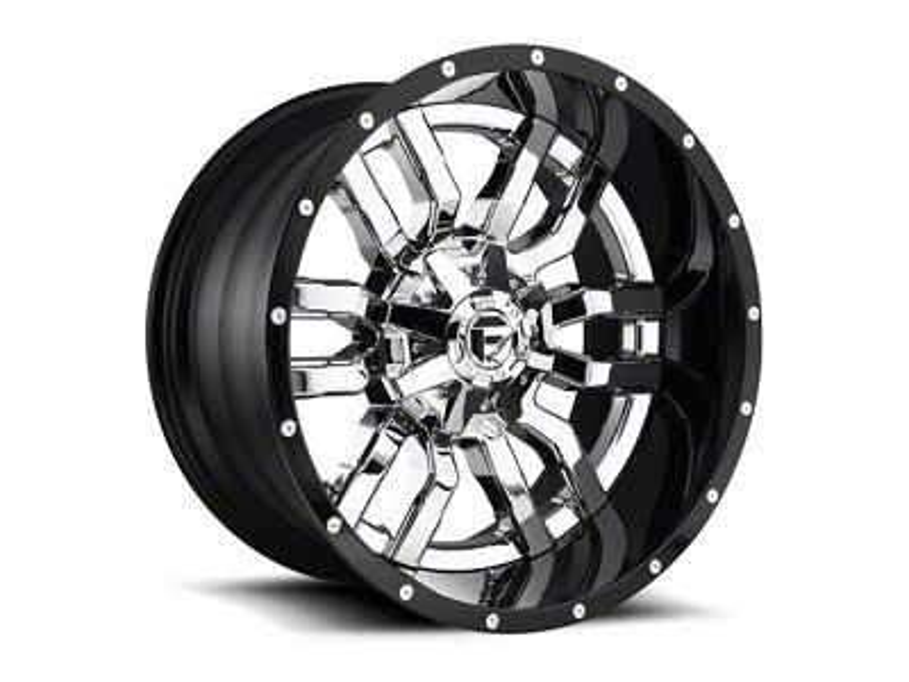 Fuel Wheels Sledge Chrome 6-Lug Wheel - 22x10 (07-18 Sierra 1500)