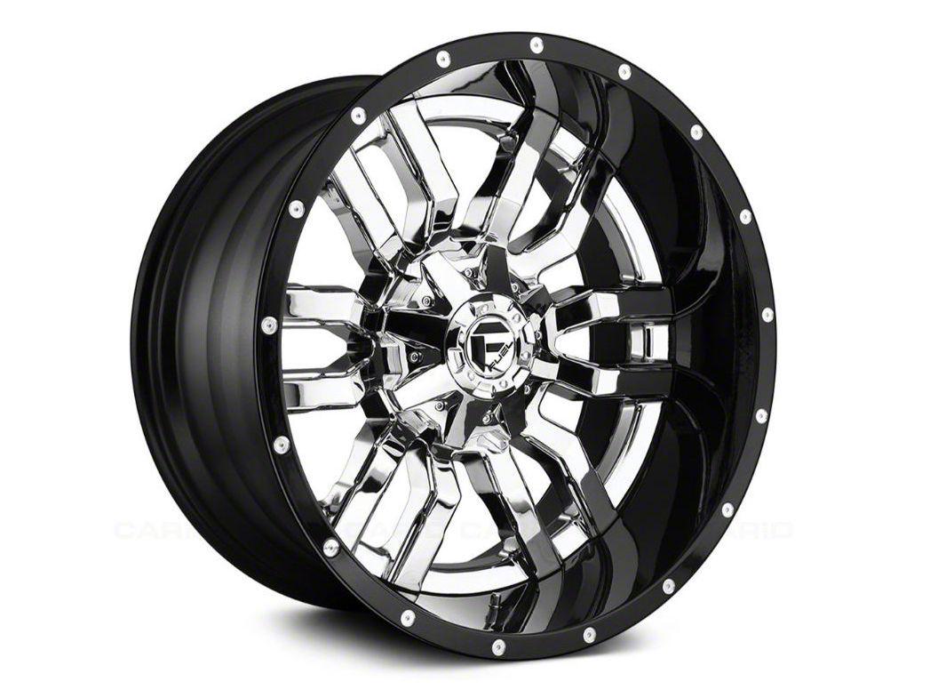 Fuel Wheels Sledge Chrome 6-Lug Wheel - 22x12 (07-18 Sierra 1500)