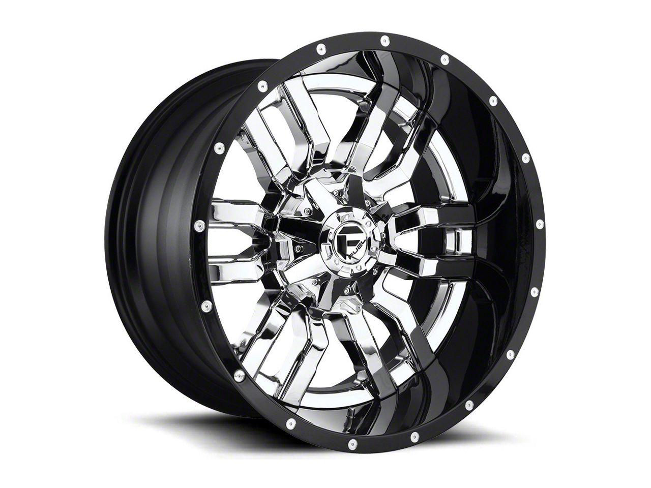 Fuel Wheels Sledge Chrome 6-Lug Wheel - 22x14 (07-18 Sierra 1500)