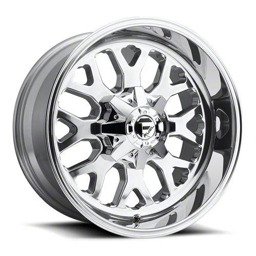 Fuel Wheels Titan Polished 6-Lug Wheel - 20x10 (07-18 Sierra 1500)