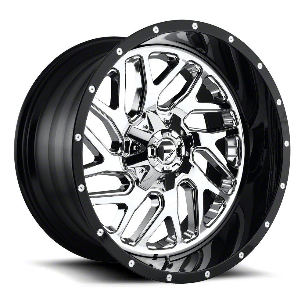 Fuel Wheels Triton Chrome 6-Lug Wheel - 22x10 (07-18 Sierra 1500)