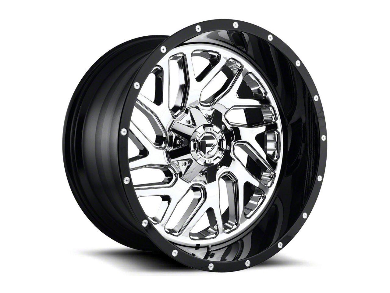 Fuel Wheels Triton Chrome 6-Lug Wheel - 22x14 (07-18 Sierra 1500)
