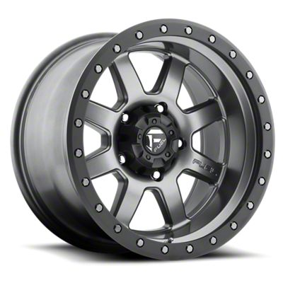 Fuel Wheels Trophy Gun Metal 6-Lug Wheel - 18x10 (07-18 Sierra 1500)