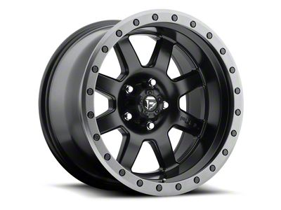 Fuel Wheels Trophy Matte Black 6-Lug Wheel - 18x10 (07-18 Sierra 1500)