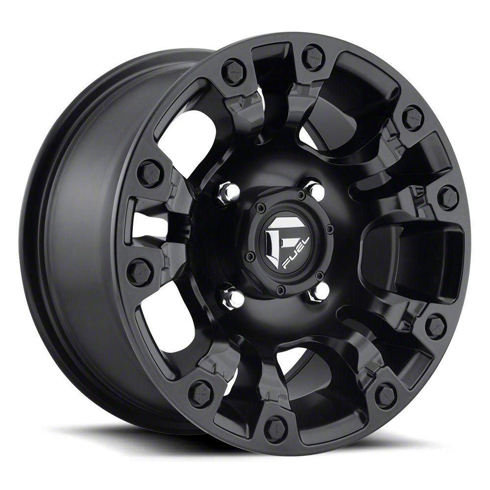 Fuel Wheels Vapor Matte Black 6-Lug Wheel - 20x10 (07-18 Sierra 1500)