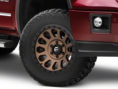 Fuel Wheels Vector Bronze 6-Lug Wheel - 17x8.5 (07-18 Sierra 1500)