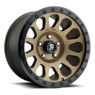 Fuel Wheels Vector Bronze 6-Lug Wheel - 18x9 (07-18 Sierra 1500)