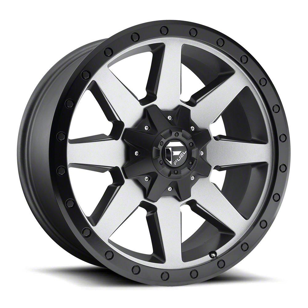 Fuel Wheels Wildcat Gun Metal 6-Lug Wheel - 20x10 (07-18 Sierra 1500)