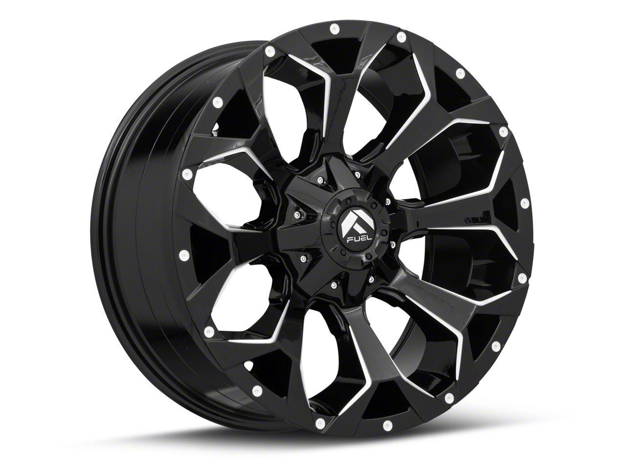 Fuel Wheels Assault Gloss Black 6-Lug Wheel - 20x9 (07-18 Sierra 1500)